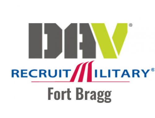 DAV RecruitMilitary Fort Bragg Job Fair